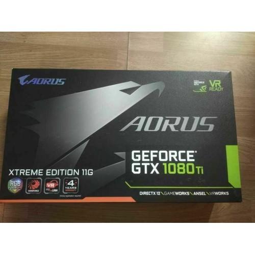 USED GIGABYTE Nvidia GeForce GTX 1080 Ti 11GB - 12 PCS LOT