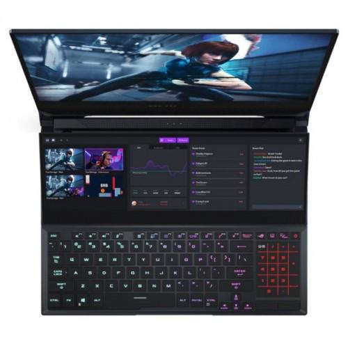 "ASUS ROG ZEPHYRUS DUO GX551QR NVIDIA RTX 3070, 32GB, 15.6"" 300Hz, Ryzen R9-5900HX"
