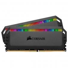 Corsair DOMINATOR PLATINUM RGB 32GB (2 x 16GB) Memory Kit DDR4 3200MHz - Black