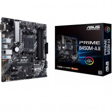 ASUS PRIME B450M-A II Socket AM4 M-ATX