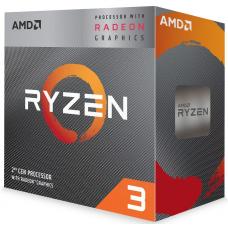 AMD Ryzen 3 3200G Quad Core 4.0GHz CPU with Radeon RX VEGA 8 Graphics