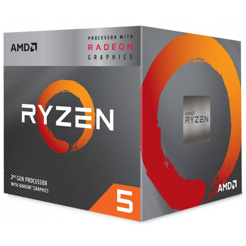 AMD Ryzen 5 3400G Quad Core 4.2GHz CPU with Radeon RX VEGA 11 Graphics