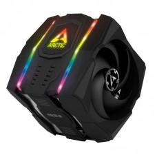 Arctic Freezer 50 Dual Tower Tower ARGB CPU Cooler Inc RGB Controller Black