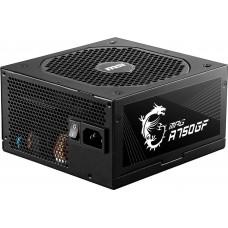 MSI MPG A750GF 750W Power Supply, 80 Plus Gold certified Fully Modular PSU